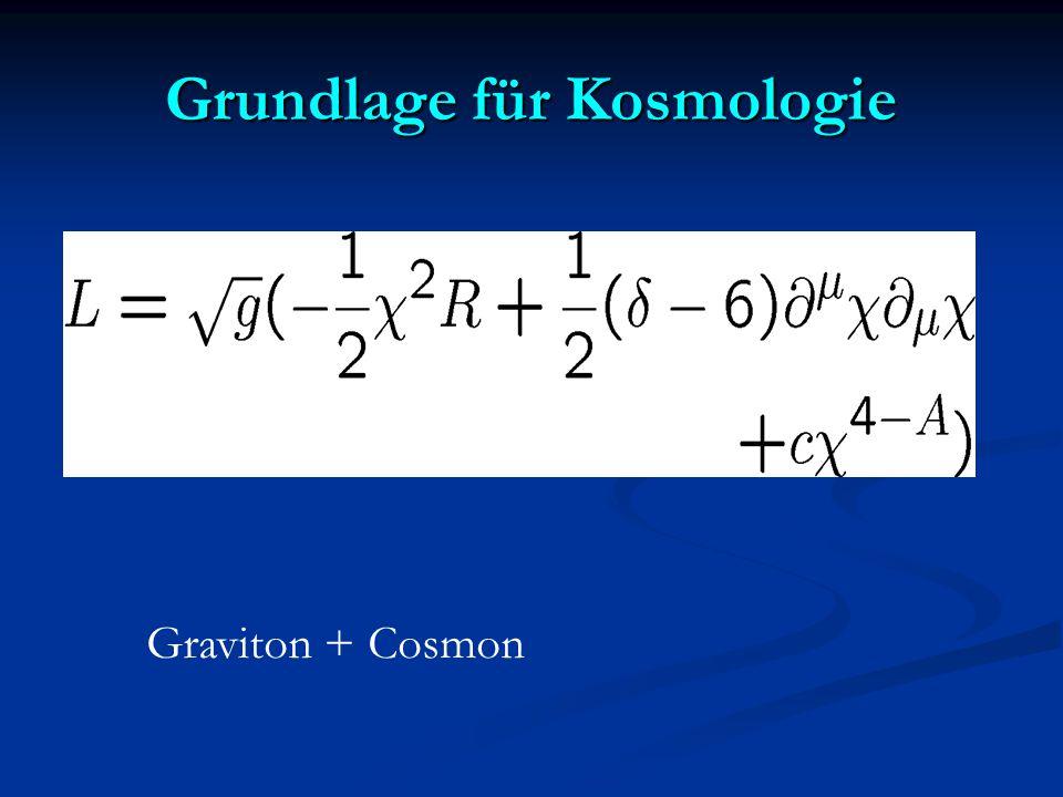 Grundlage für Kosmologie