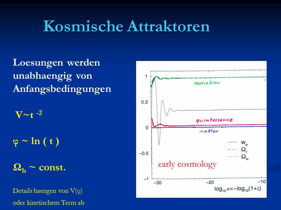 Kosmische Attraktoren