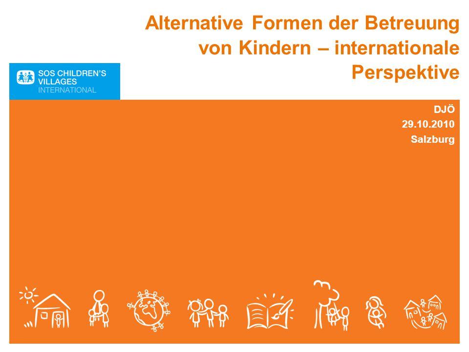 Alternative Formen der Betreuung von Kindern – internationale Perspektive