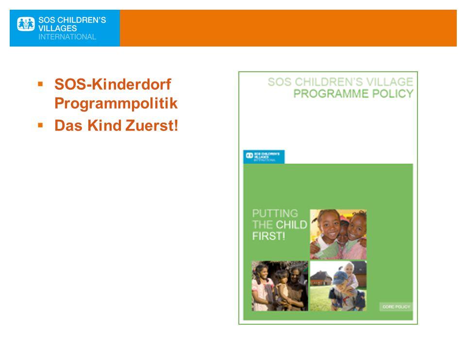 SOS-Kinderdorf Programmpolitik