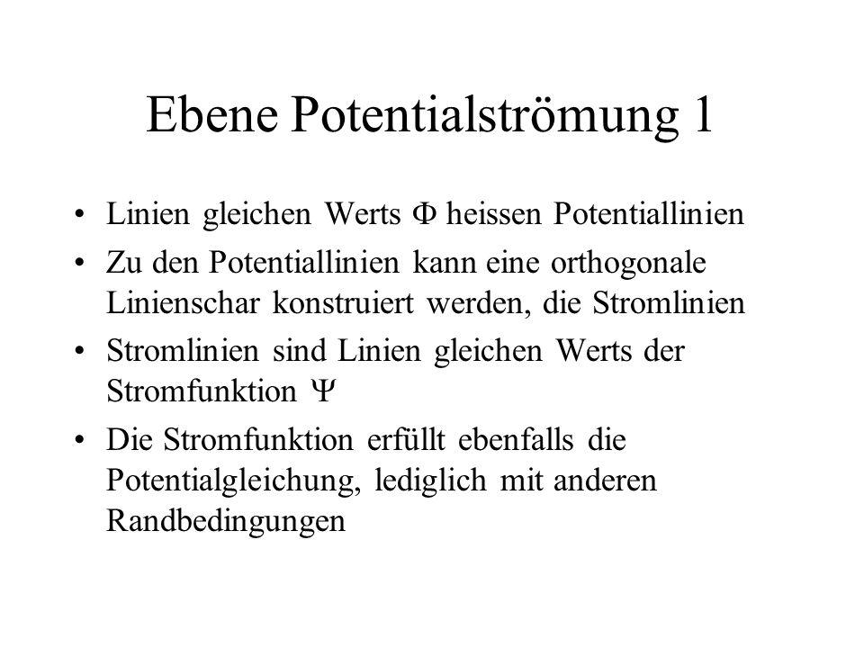 Ebene Potentialströmung 1