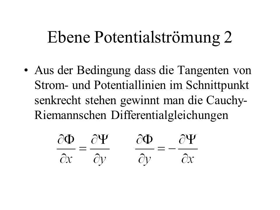 Ebene Potentialströmung 2