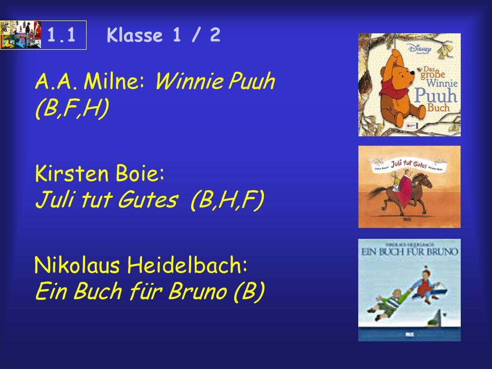 A.A. Milne: Winnie Puuh (B,F,H)