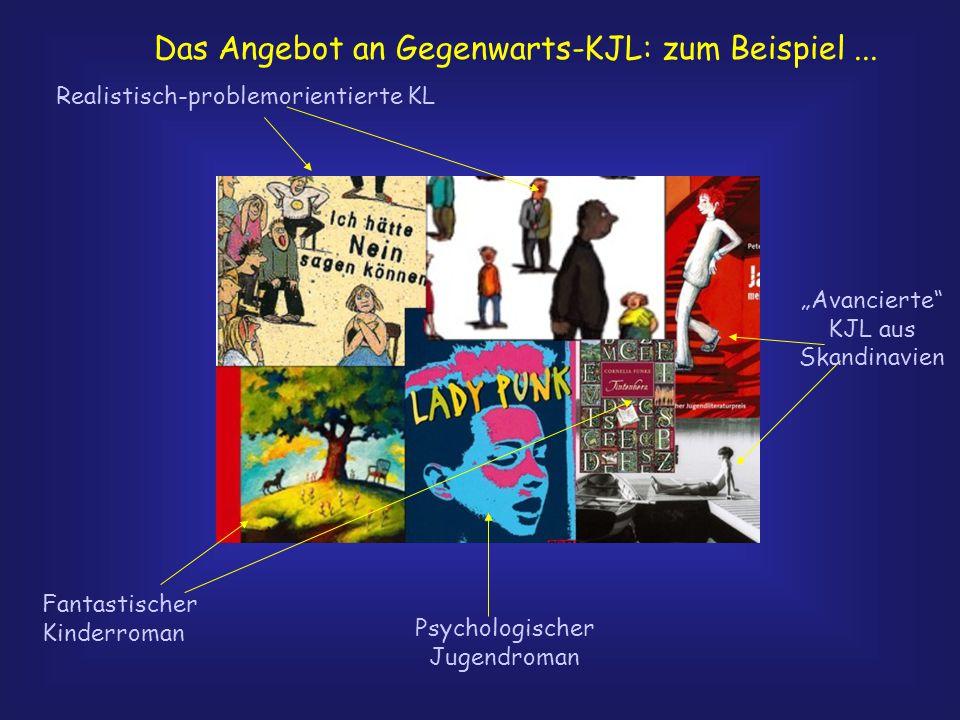 Das Angebot an Gegenwarts-KJL: zum Beispiel ...
