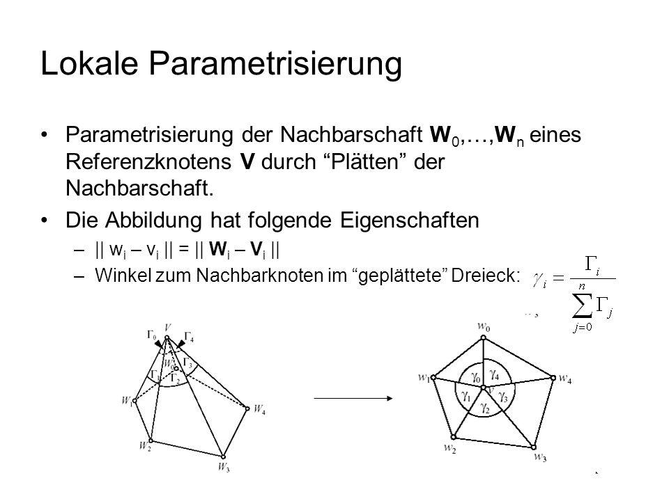 Lokale Parametrisierung