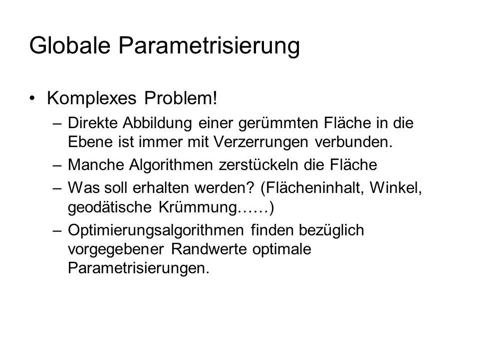 Globale Parametrisierung
