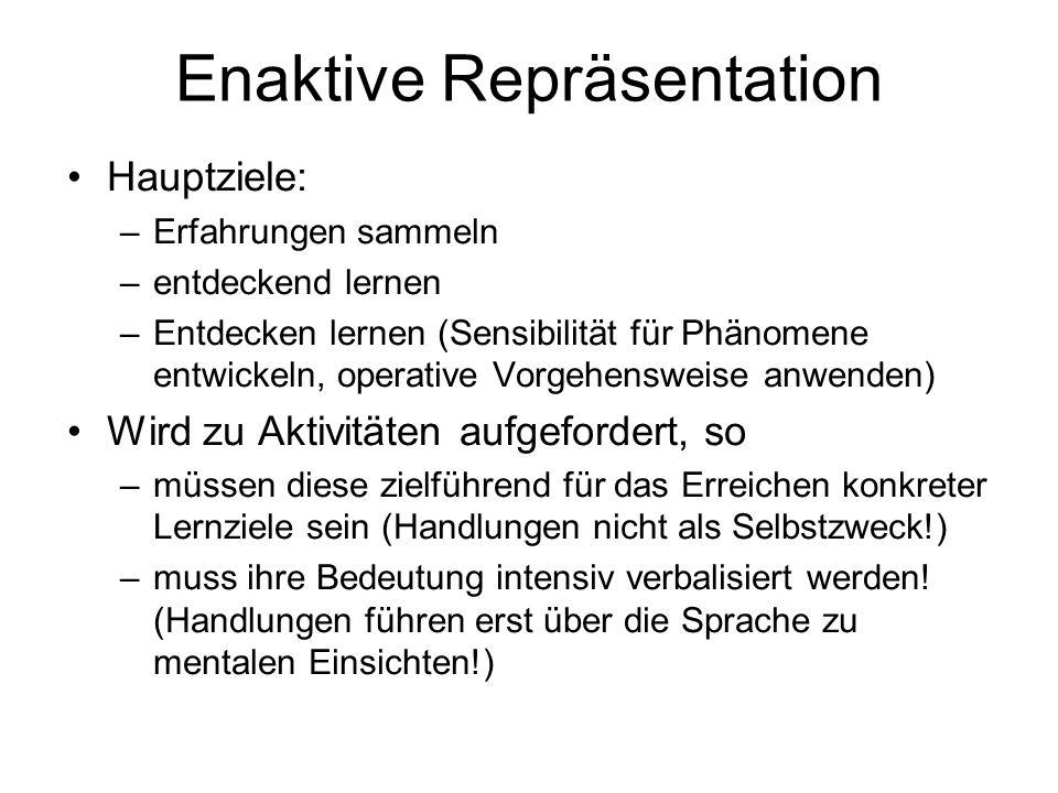 Enaktive Repräsentation