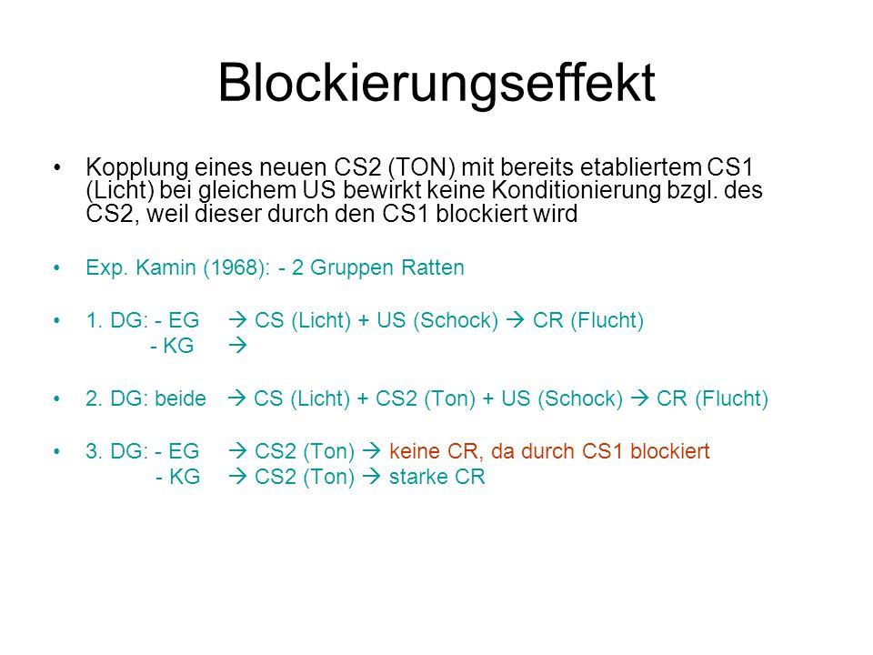 Blockierungseffekt