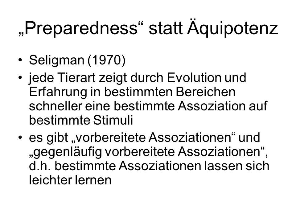 """""""Preparedness statt Äquipotenz"""