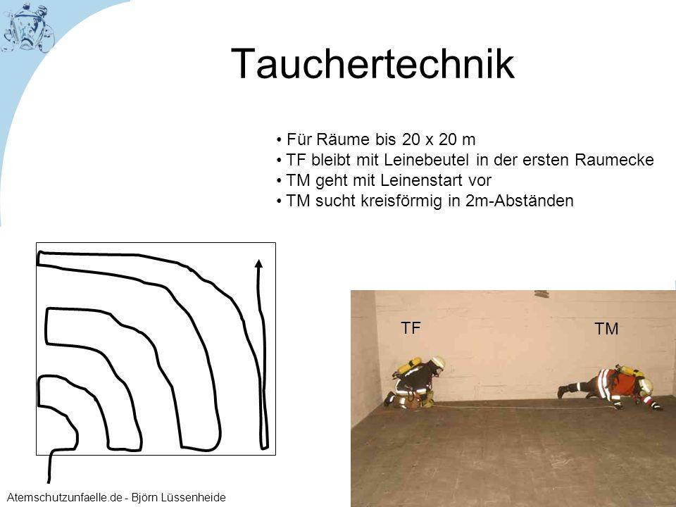 Tauchertechnik Für Räume bis 20 x 20 m