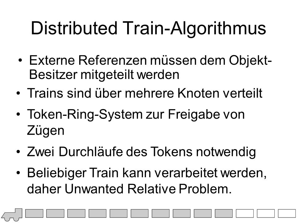 Distributed Train-Algorithmus