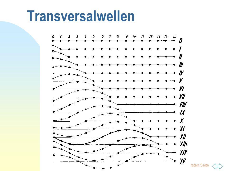 Transversalwellen