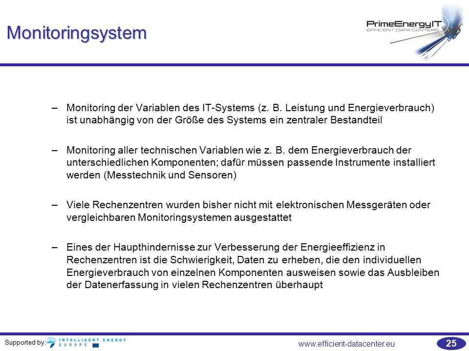 Monitoringsystem