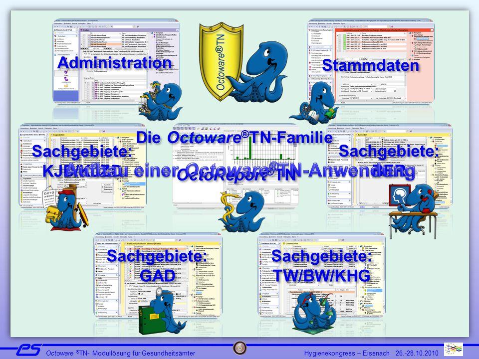 Aufbau einer Octoware®TN-Anwendung