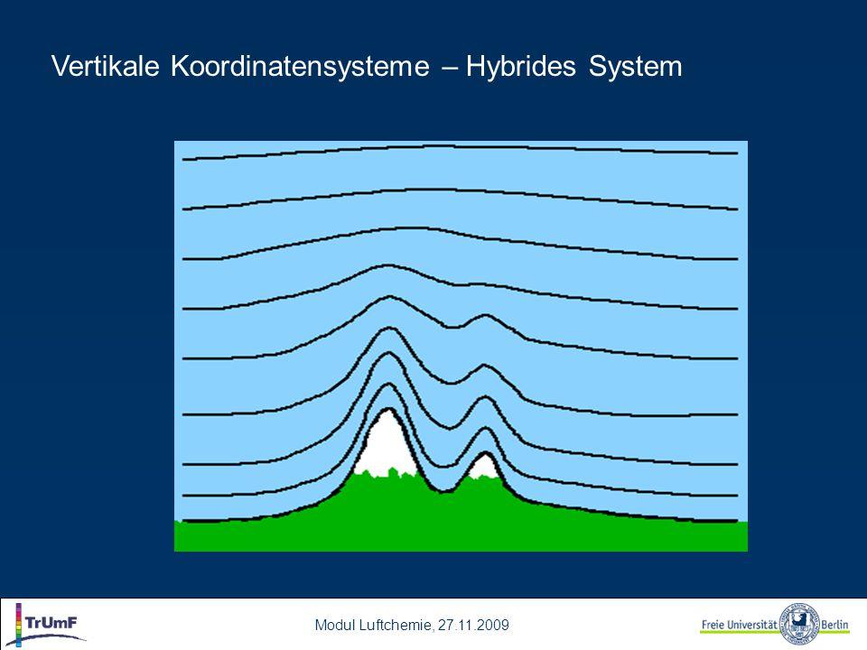 Vertikale Koordinatensysteme – Hybrides System