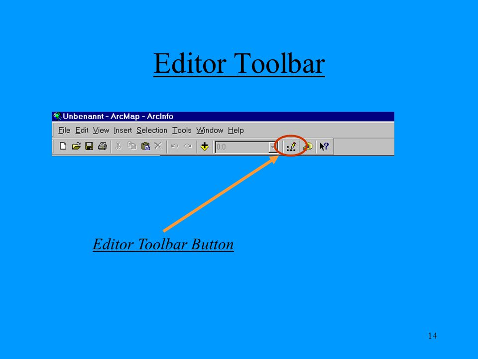 Editor Toolbar Editor Toolbar Button