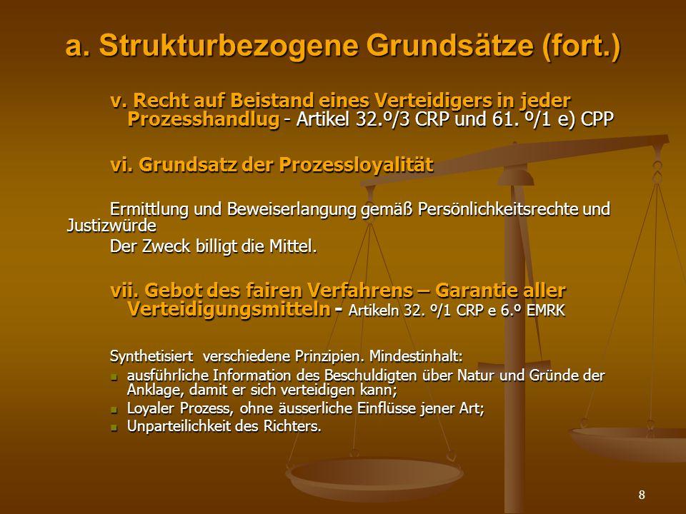 a. Strukturbezogene Grundsätze (fort.)
