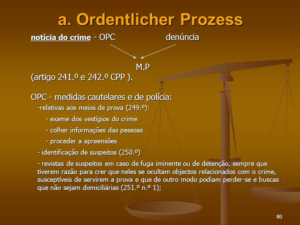 a. Ordentlicher Prozess
