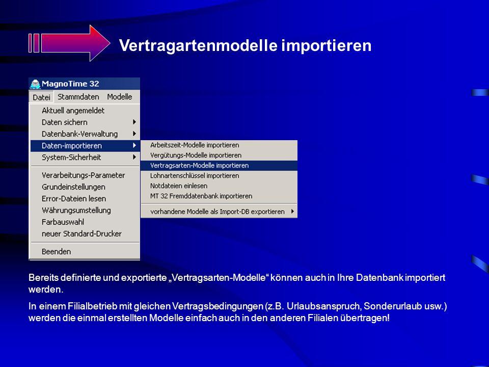 Vertragartenmodelle importieren