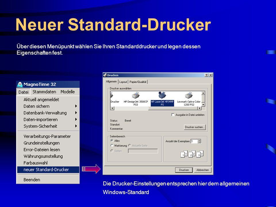 Neuer Standard-Drucker
