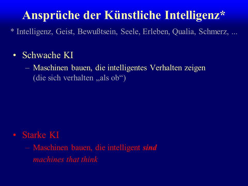 Ansprüche der Künstliche Intelligenz*