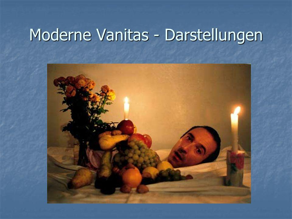 Moderne Vanitas - Darstellungen
