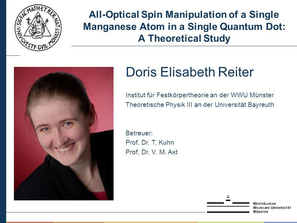Doris Elisabeth Reiter