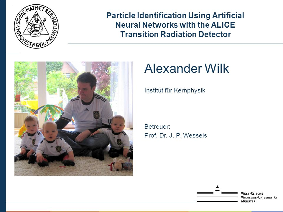 Particle Identification Using Artificial Neural Networks with the ALICE Transition Radiation Detector