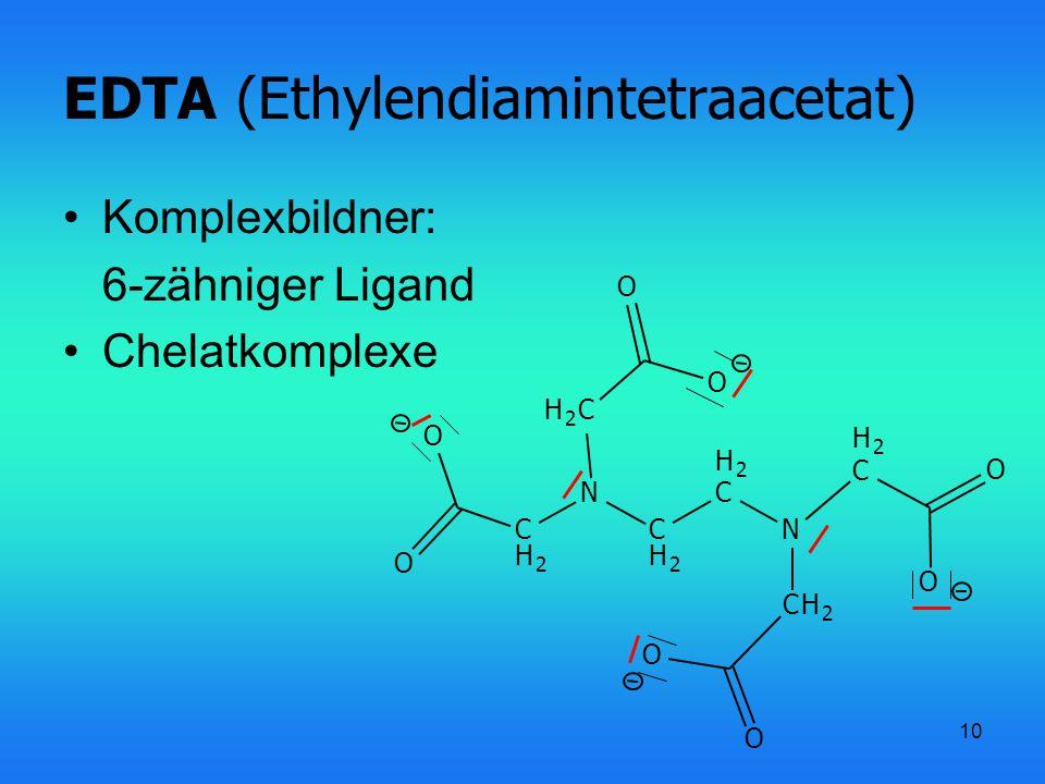 EDTA (Ethylendiamintetraacetat)