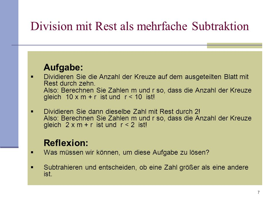 division mit rest fortbildungsveranstaltung am 5 juni 2009 innsbruck ppt herunterladen. Black Bedroom Furniture Sets. Home Design Ideas