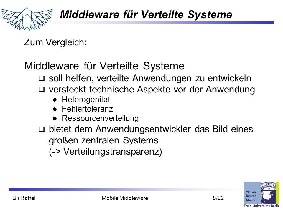Middleware für Verteilte Systeme