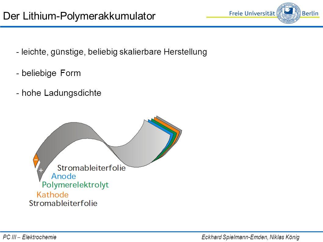 Der Lithium-Polymerakkumulator