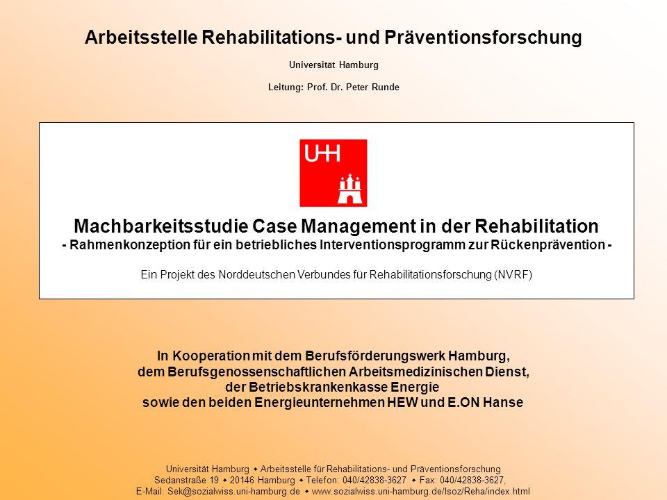 Arbeitsstelle Rehabilitations- und Präventionsforschung