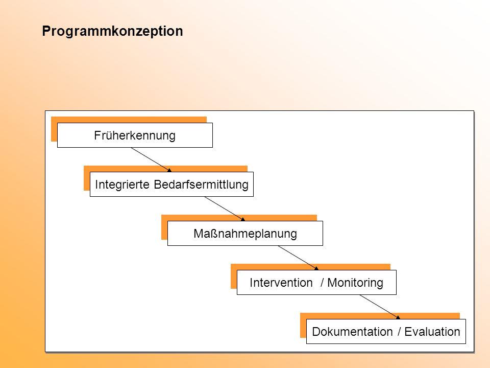 Programmkonzeption Früherkennung Integrierte Bedarfsermittlung