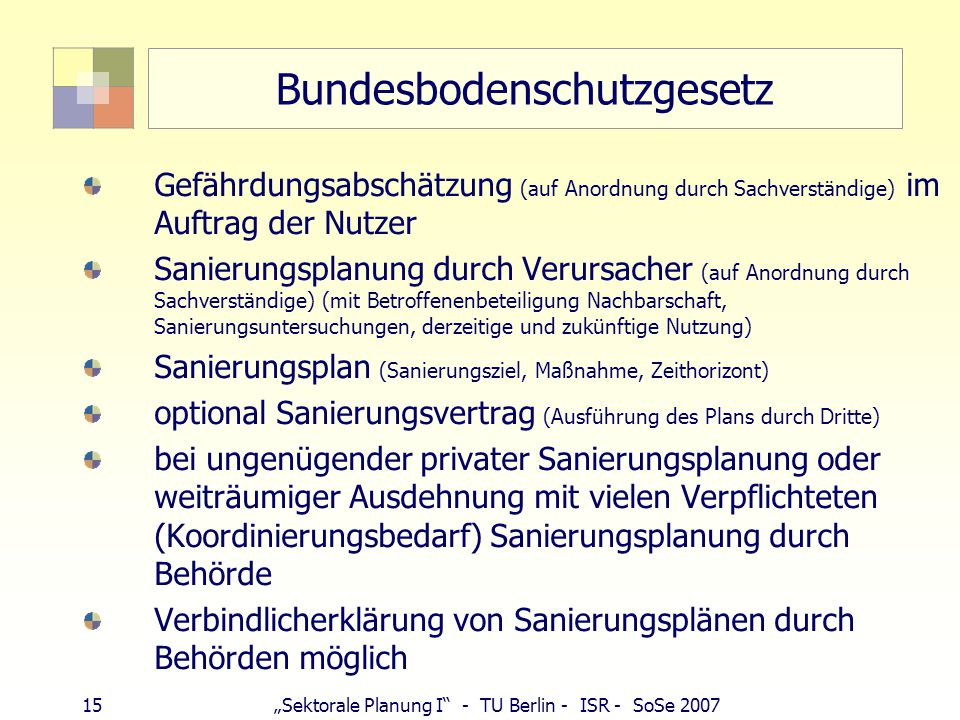 Bundesbodenschutzgesetz