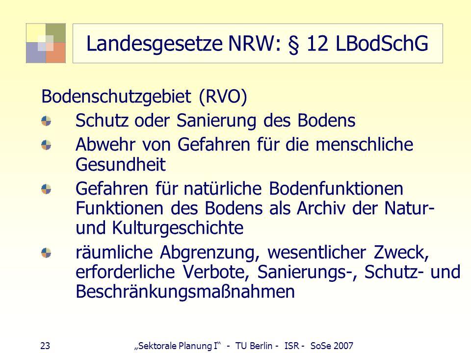Landesgesetze NRW: § 12 LBodSchG