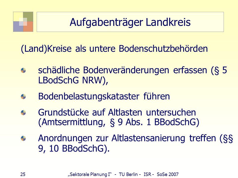 Aufgabenträger Landkreis