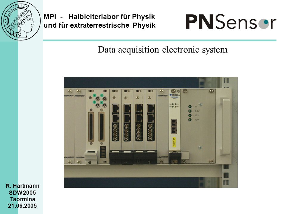 Data acquisition electronic system