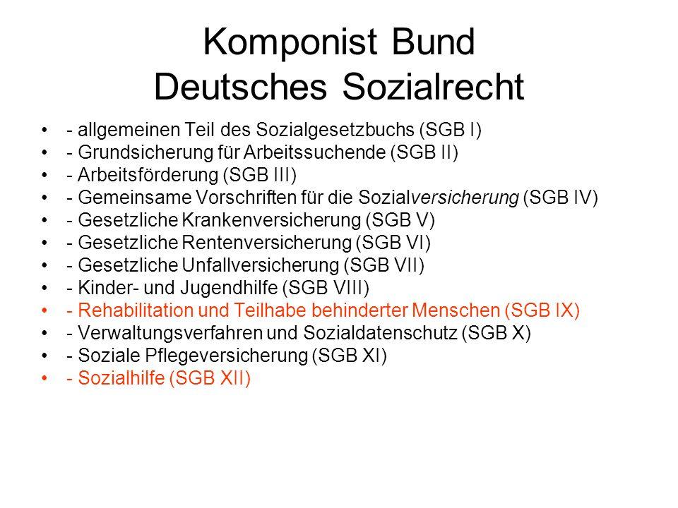 Komponist Bund Deutsches Sozialrecht
