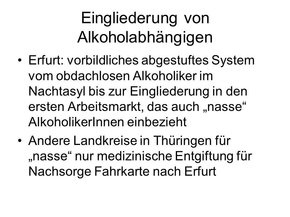 Eingliederung von Alkoholabhängigen