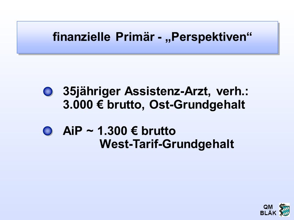 "finanzielle Primär - ""Perspektiven"