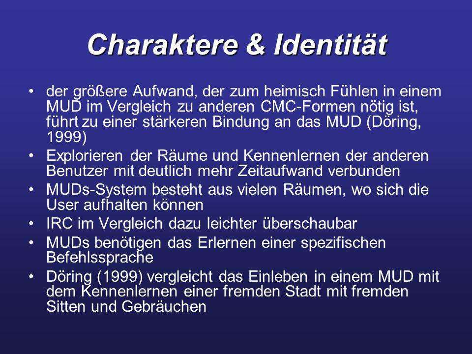 Charaktere & Identität