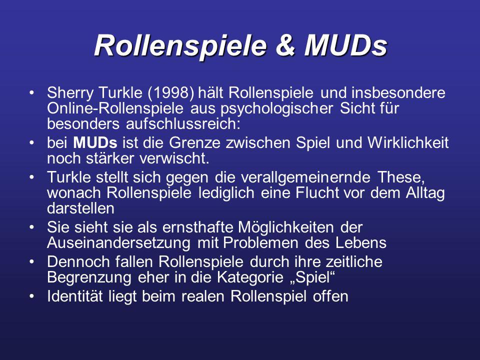 Rollenspiele & MUDs
