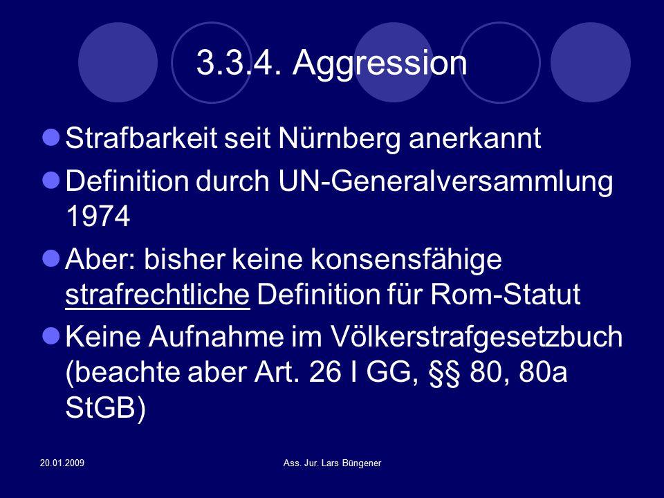 3.3.4. Aggression Strafbarkeit seit Nürnberg anerkannt