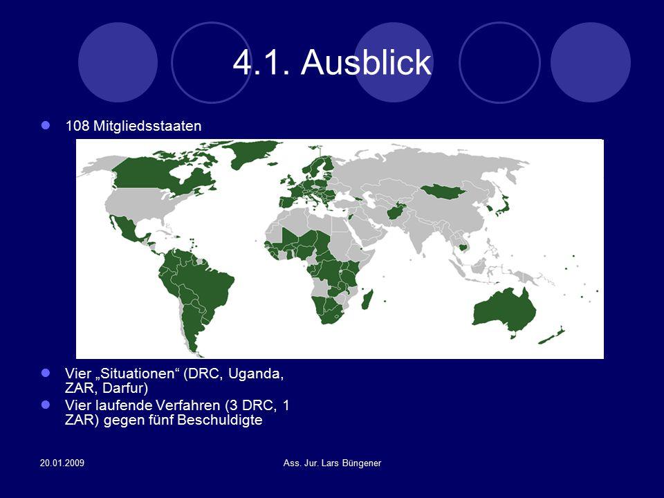 4.1. Ausblick 108 Mitgliedsstaaten