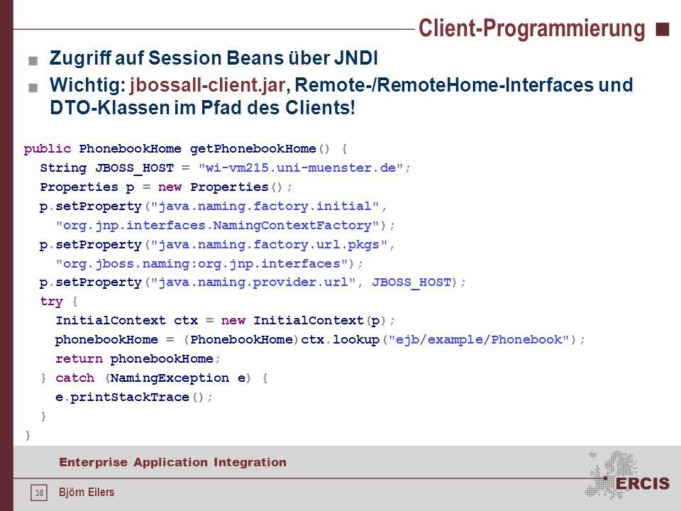 Client-Programmierung