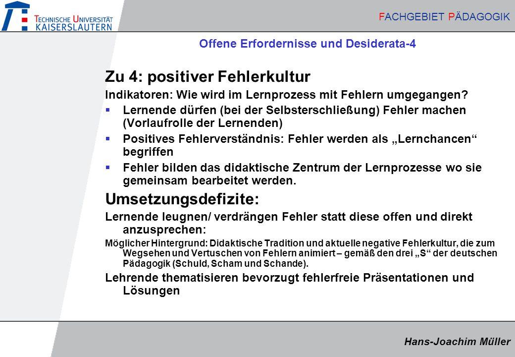 Offene Erfordernisse und Desiderata-4