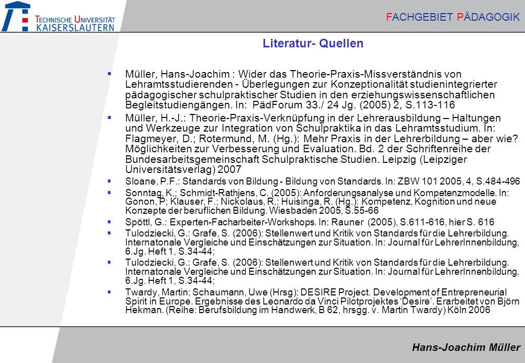 Literatur- Quellen