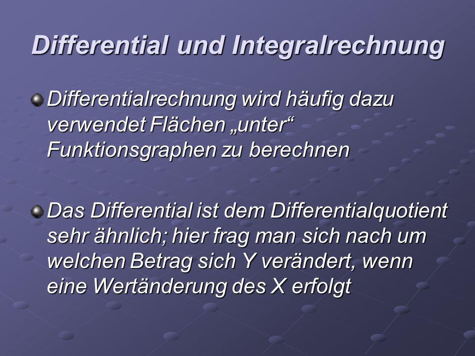 Differential und Integralrechnung