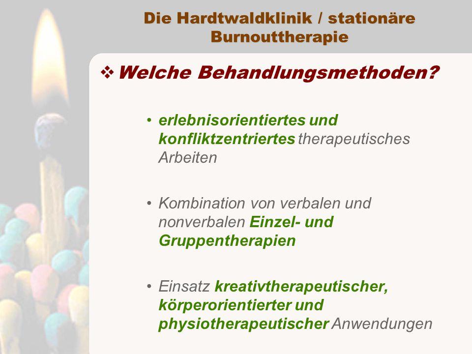Die Hardtwaldklinik / stationäre Burnouttherapie